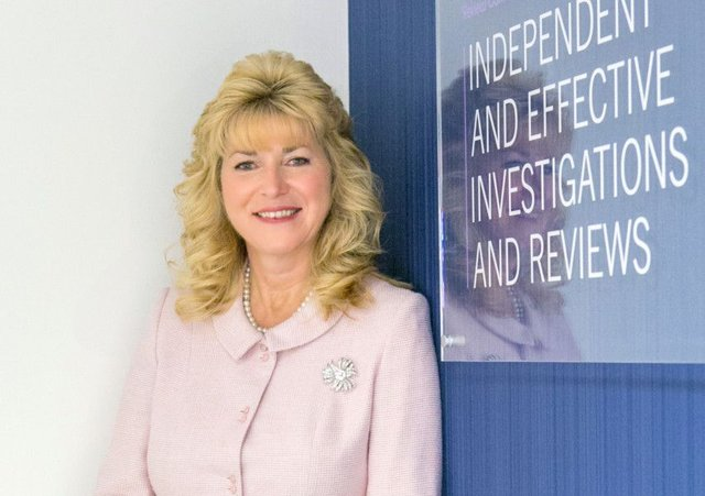 Kate Frame, the Police Investigations & Review Commissioner.
