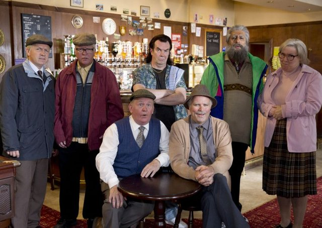 The casr of Still Game. Picture; contributed