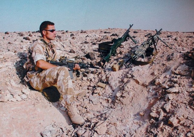 Colin Maclachlan is facing murder charges after mercy killing Iraqi soldiers. Picture TSPL