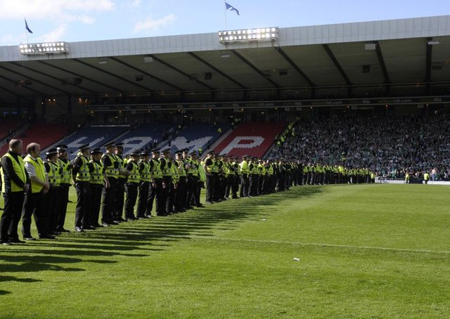 Scottish Cup Final, Hampden Park, Glasgow. 21st May  2016