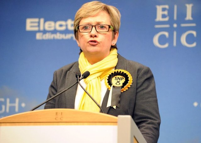 Police were called to the surgery behind held by Edinburgh South West MP Joanna Cherry. Picture: Lisa Ferguson