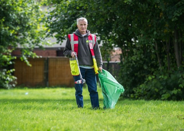 Litter clean-up costs for local councils are horrendous. Picture: John Devlin