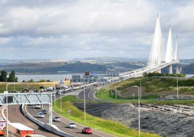 The roadworks come just a few months after the bridge opened. Picture: Lisa Ferguson