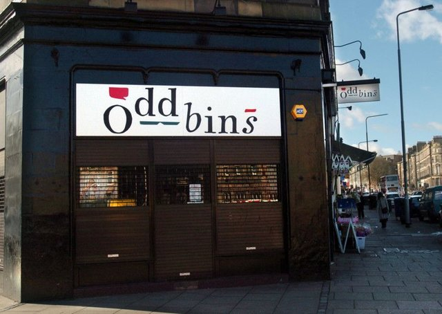 The robbery took place at the Oddbins on Brunswick Street. Picture: Toby Williams