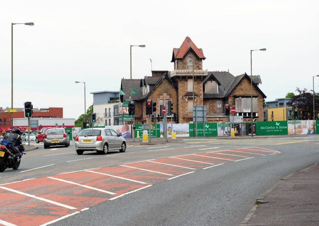 There have been calls to reduce the congestion at Barnton Junction