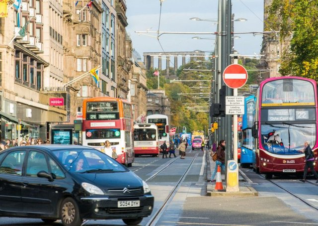 Radical options for cutting the amount of traffic in the city centre are on the table. Picture: Ian Georgeson