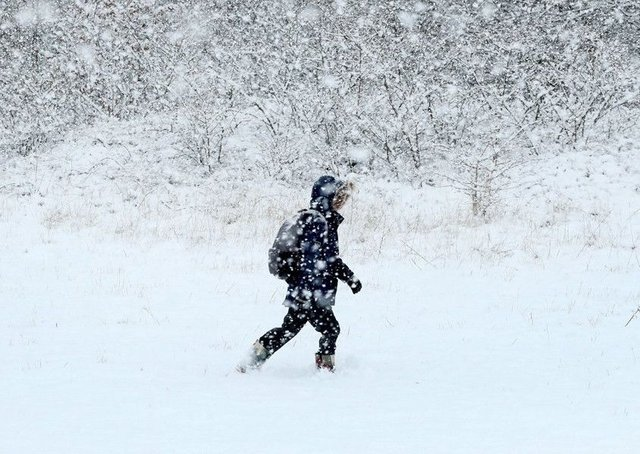 Some weather forecasters are claiming that we are set to be hit by months of snow.