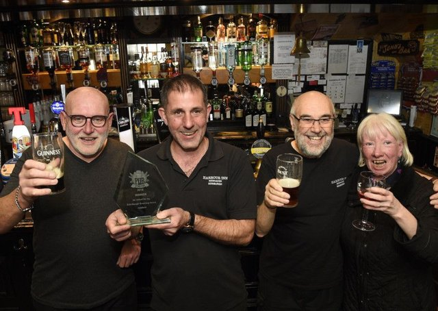 The Harbour Inn at Newhaven has been crowned Pub of the Year award as voted for by readers of the Evening News. Picture: Greg Macvean