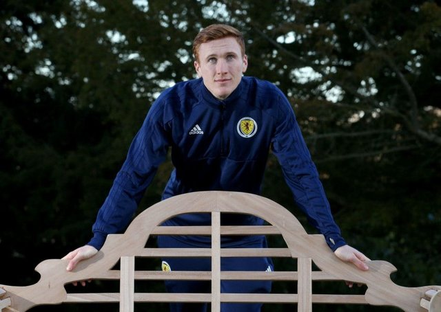 David Bates is on the verge of winning his first Scotland cap