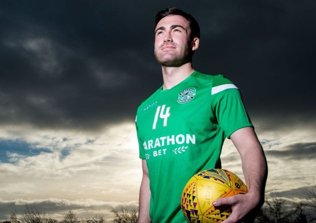 Stevie Mallan says Hibs have set goals for the rest of the year. Pic: SNS