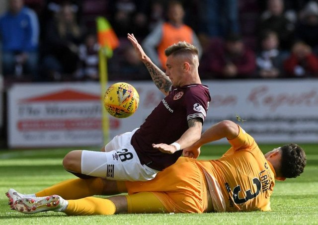 Hearts and Livingston will meet in the Scottish Cup next month. Pic: SNS