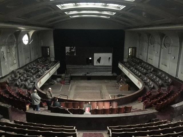 Artists are already bringing the former Leith Theatre building back to life for the first time in almost 30 years.