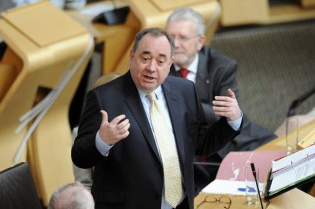 Alex Salmond: Announced oil and gas academy. Picture: TSPL