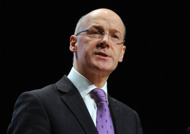 John Swinney today launched a repor on consumer protection in an independent Scotland. Picture: Ian Rutherford