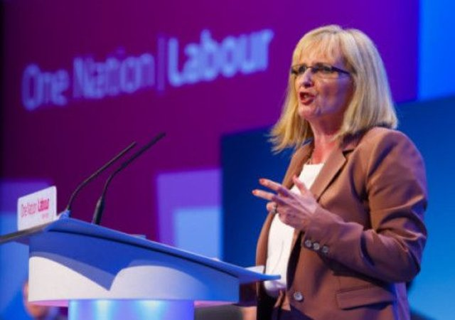 Shadow Secretary of State for Scotland Margaret Curran at the Labour conference in Brighton. Picture: PA