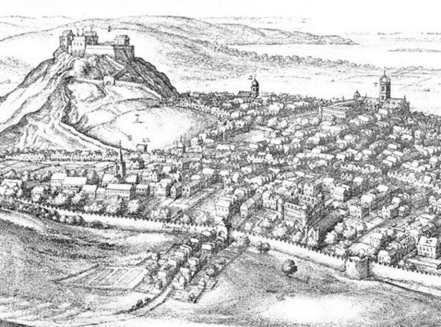 Edinburgh as it would have looked at the time of the 1645 plague outbreak. Picture: Contributed