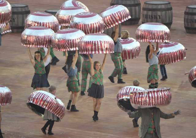 The dancing teacakes at the Glasgow Games have added to the pantheon of Scottish icons. Picture: Ian Rutherford