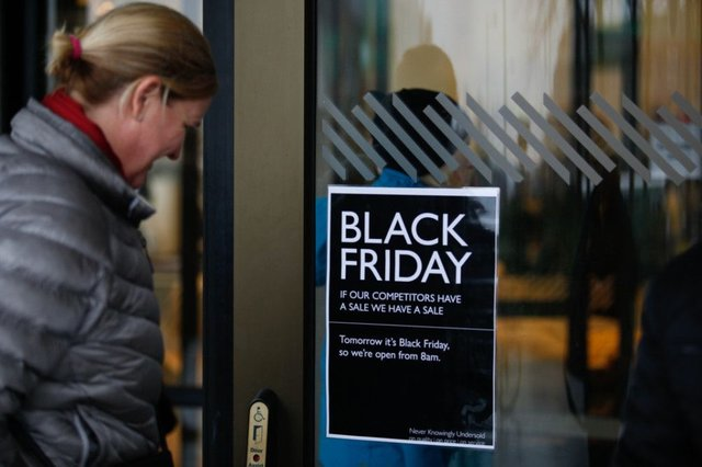 Xmas Spending Shift Was Behind Black Friday Boom The Scotsman