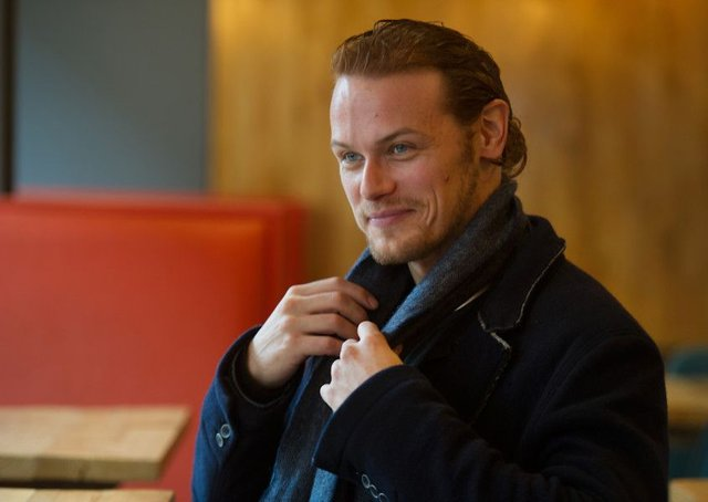 Sam Heughan worked in soaps before landing role in Outlander . Picture: John Devlin/TSPL