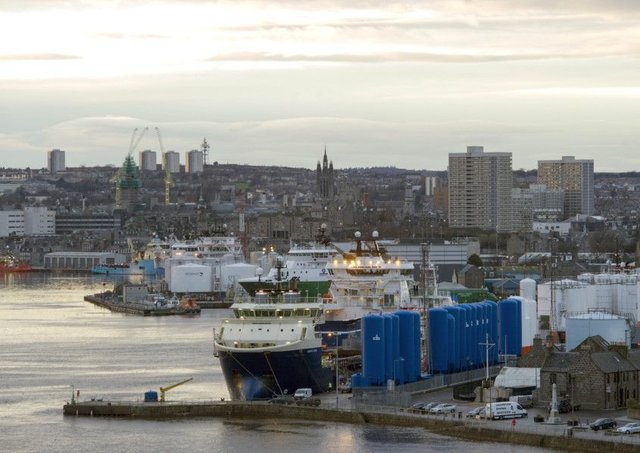 Unemployment rose by 69 per cent in Aberdeen and 92 per cent in Aberdeenshire as a whole in the year up to January. Picture: Ian Rutherford