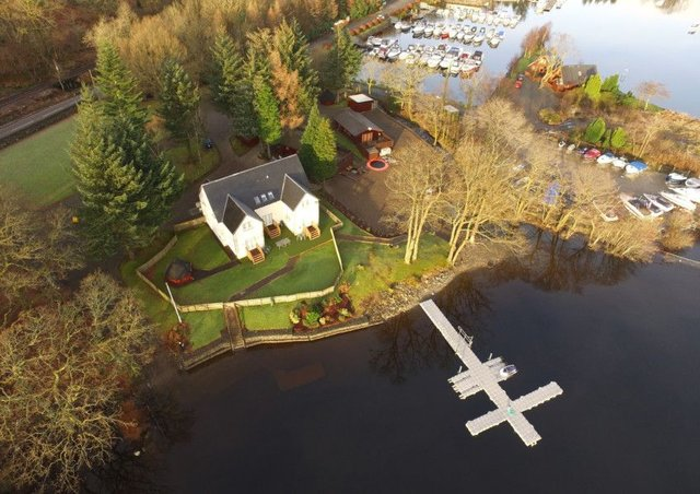 Ardlui Retreat on the banks of Loch Lomond. Picture: Contributed