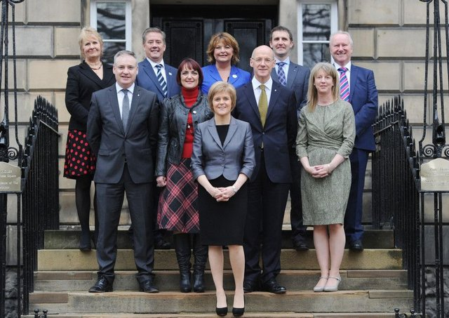 The SNP Cabinet has a 50-50 gender split  others must learn to match, or better, that level. Picture: Neil Hanna