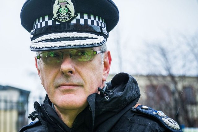 Chief Constable Phil Gormley just last month told MSPs that Police Scotland were carrying out a review of whistleblowing. Picture: Steven Scott Taylor