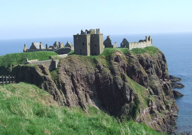 The dramatic ruins of Dunnottar Castle. Picture: Graeme Murray
