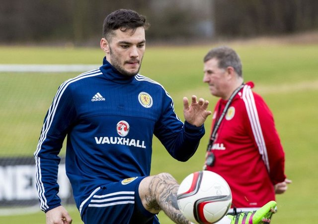 Tony Watt is expected to win his first cap tonight. Gordon Strachan sees him as the type of player who can win things on his own. Picture: SNS