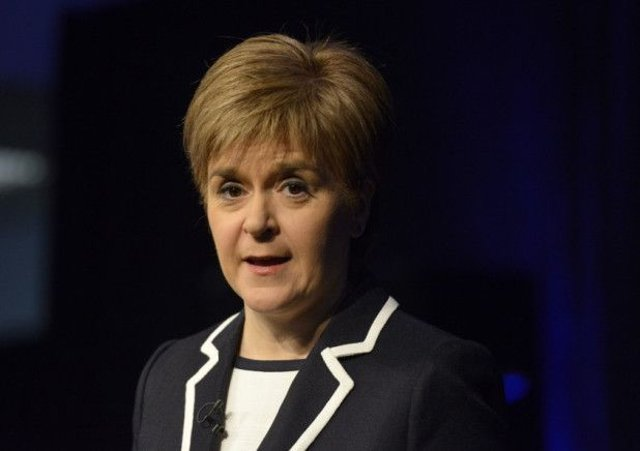 First Minister Nicola Sturgeon. Picture: Julie Bull