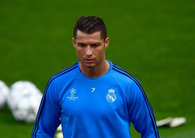 Cristiano Ronaldo: Excited by the challenge of Wolfsburg. Picture: Getty