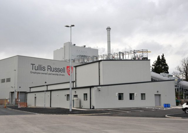 Tullis Russell fell into administration a year ago. Picture: George McLuskie