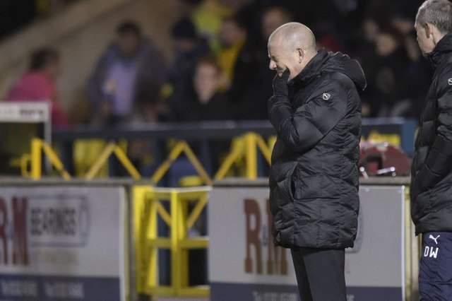 Rangers manager Mark Warburton said there were no excuses for a poor performance against Livingston. Picture: Craig Williamson/SNS