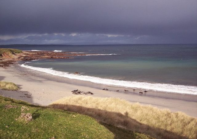 The body was found washed up on the shore at John O'Groats Picture: Geograph
