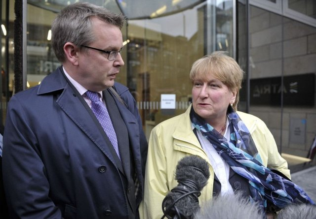 Adam Tomkins and former Scottish Tory leader Annabel Goldie. Picture: Ian Rutherford