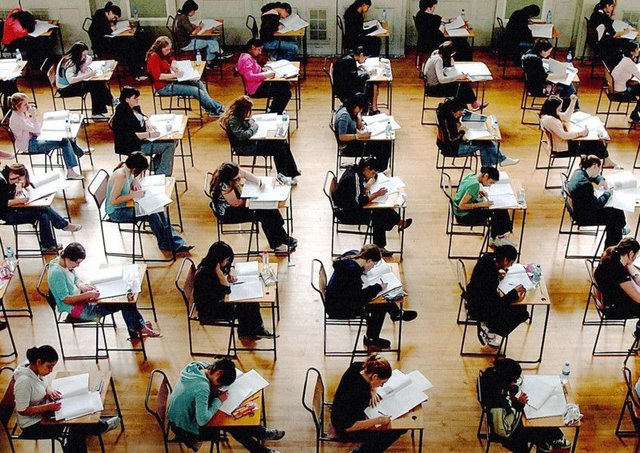 Concerns have been raised as some schools are only offering five exams instead of eight. Picture: PA