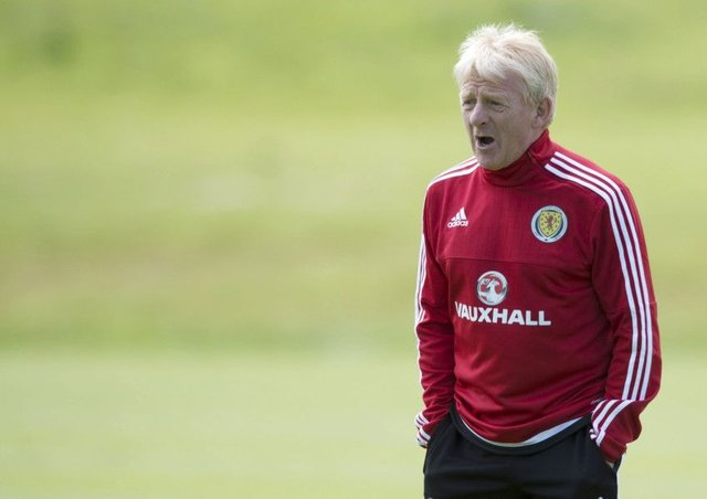 Scotland Manager Gordon Strachan. Picture: SNS Group