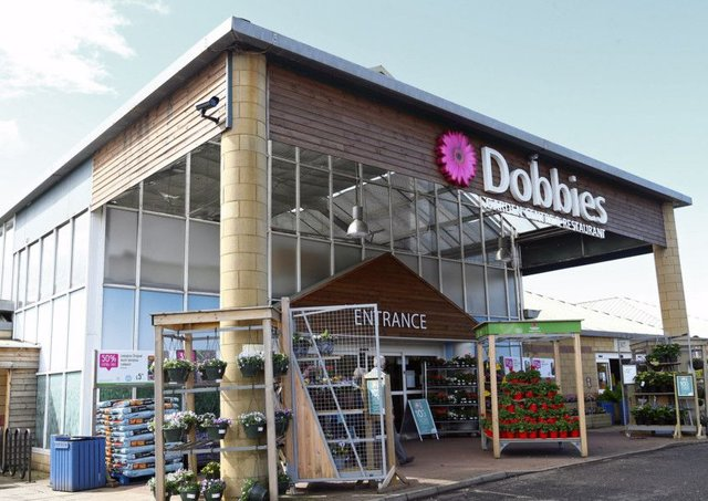Dobbies is said to have caught the eye of Edinburgh Woollen Mill's chief. Picture: Gordon Fraser