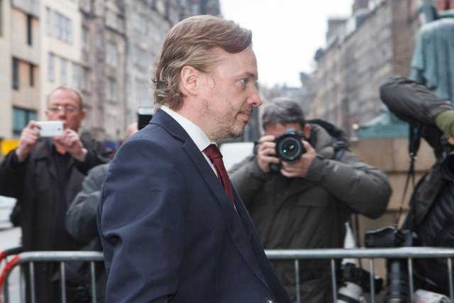 Craig Whyte at a previous court appearance in Edinburgh. Picture: Toby Williams