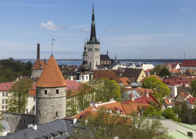 Hearts fans will be visiting Tallinn in a few weeks. Pic: TSPL