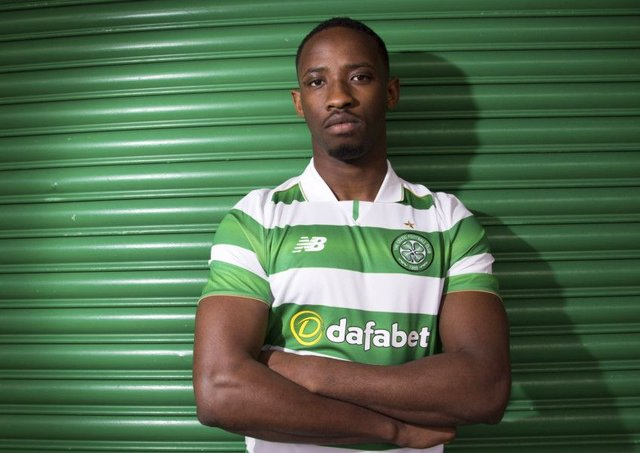 Celtic's first summer signing Moussa Dembele, was unveiled after his move from Fulham. Picture Rob Casey/SNS