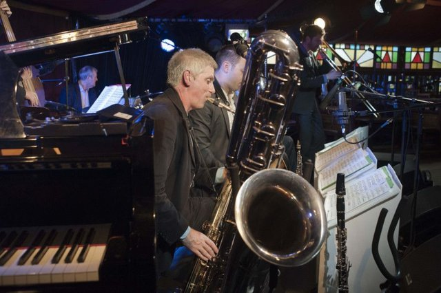 The Classic Jazz Orchestra went back to the earliest days of the form. Picture: East Neuk Festivals