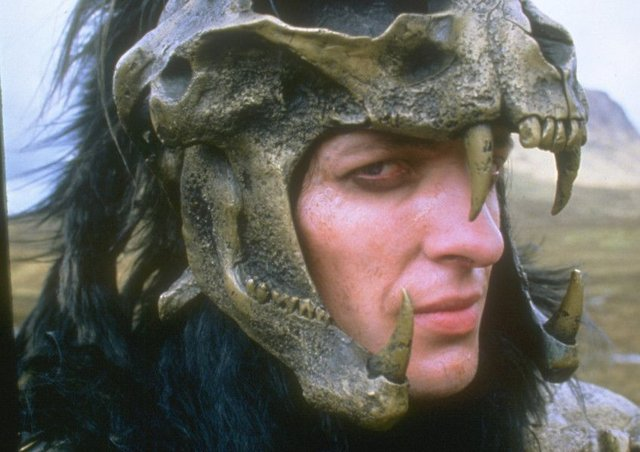 Clancy Brown in Highlander. Picture: The Kobal Collection
