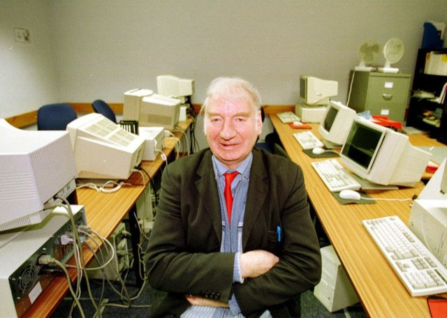 Willie Clarke, pictured in 1999. Picture: TSPL