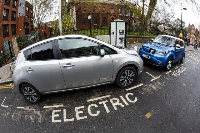 Todays electric cars come with a bevy of bells and whistles  literally, meaning you might not realise one is bearing down on you as you go to cross the road. Picture: Getty