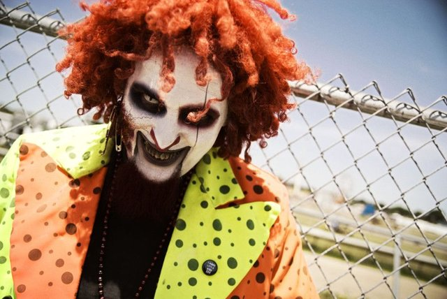 People dressed as clowns have been jumping out at pedestrians. File picture: Contributed