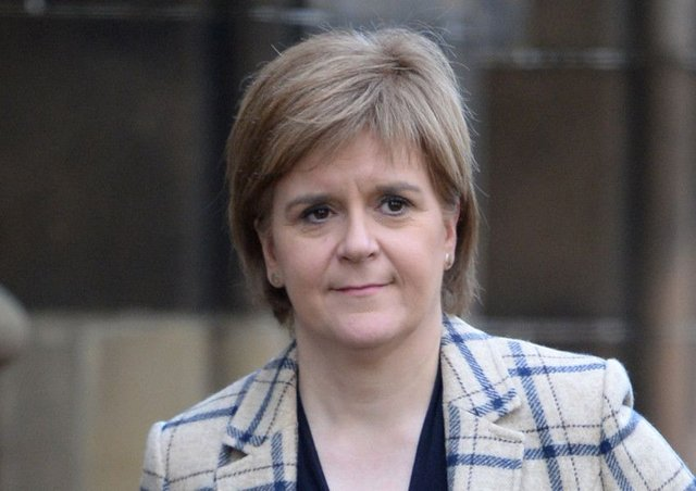 Nicola Sturgeon remains the most popular Scot leader