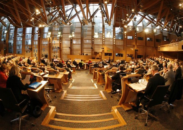 The Scottish Parliament voted to repeal the SNP's Offensive Behaviour at Football and Threatning Communications Act.