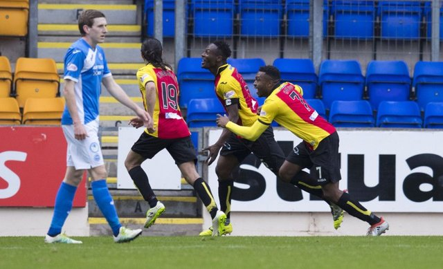 Joy for Thistle, despair for Saints as Abdul Osman celebrates late winner