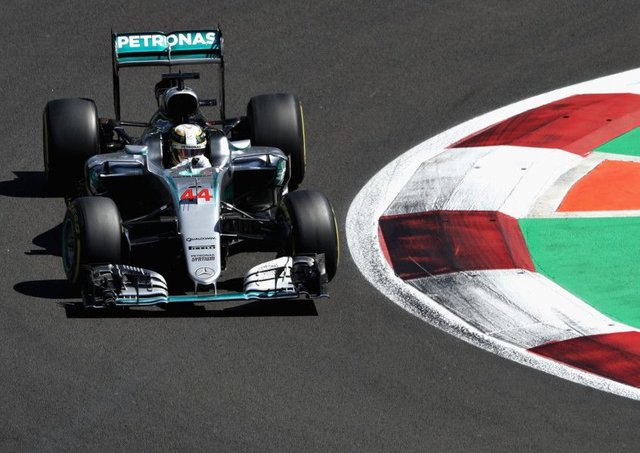 Lewis Hamilton was fastest in qualifying in Mexico.  Picture: Mark Thompson/Getty Images